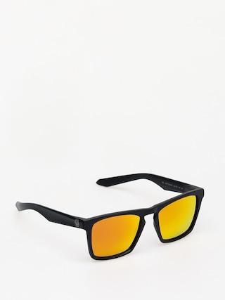 Okulary przeciwsu0142oneczne Dragon Drac (matte black/orange ion)