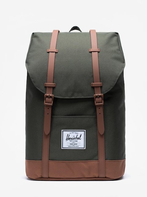 Plecak Herschel Supply Co. Retreat (dark olive/saddle brown)
