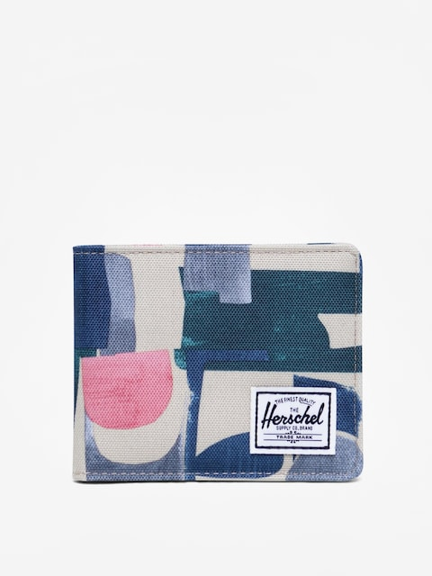 Portfel Herschel Supply Co. Roy Rfid (abstract block)