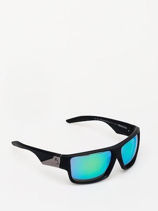 Okulary przeciwsu0142oneczne Dragon Deadlock (matte black/green ion)