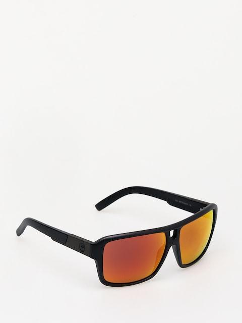 Okulary przeciwsłoneczne Dragon The Jam (matte black/red ion)