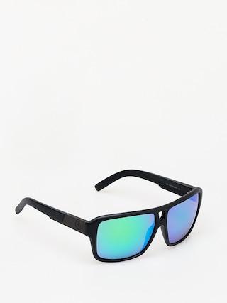 Okulary przeciwsłoneczne Dragon The Jam (matte black/green ion)