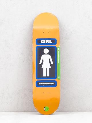 Deck Girl Skateboard Howard 93 Til (orange)