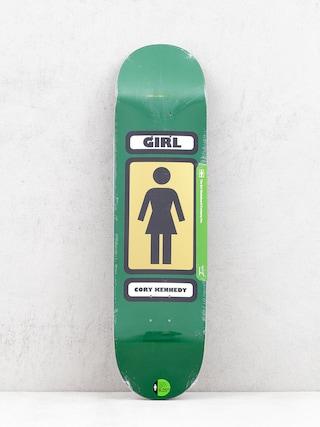 Deck Girl Skateboard Kennedy 93 Til (green)