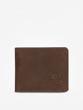Portfel Herschel Supply Co. Hank Coin Leather Rfid (nubuck brown)