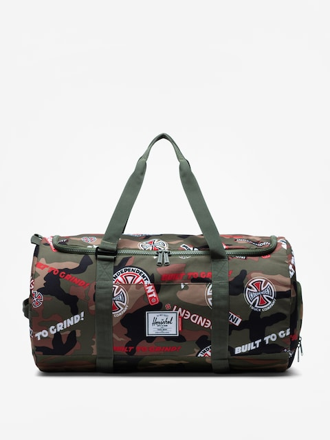 Torba Herschel Supply Co. Independent Sutton (woodland camo multi independent logo/cypress)