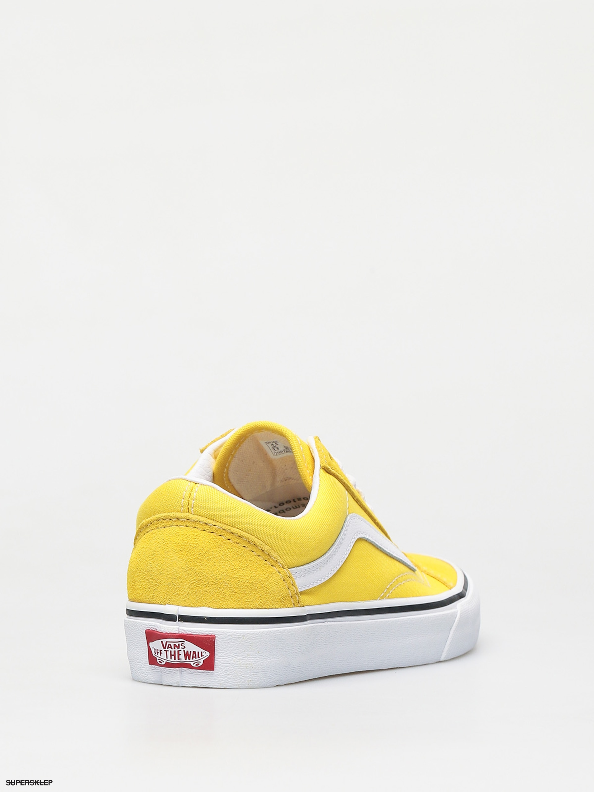 VANS Authentic Shoes (vanilla Custardtrue White) Men Yellow