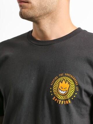 T-shirt Spitfire K T U L (tar/yellow/orange)