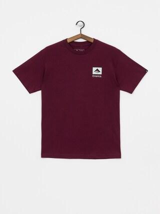 T-shirt Emerica Brand Combo (burgundy)