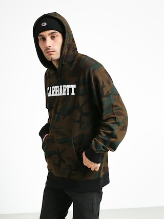 Bluza z kapturem Carhartt WIP College HD (camo evergreen/white)
