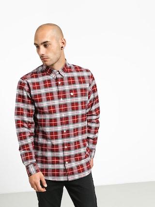 Koszula Carhartt WIP Linville (linville check cardinal/wax)