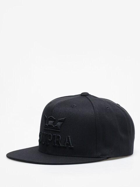 Czapka z daszkiem Supra Above Decon ZD (black/black)