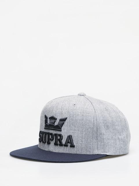 Czapka z daszkiem Supra Above II Snapback ZD (grey heather/navy)