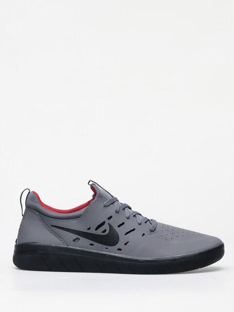 Buty Nike SB Nyjah Free (dark grey/black gym red)