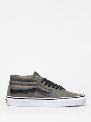 Buty Vans Sk8 Mid (grape leaf/true white)