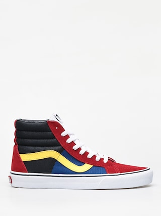 Buty Vans Sk8 Hi Reissue (otw rally/chilli pepper/true white)