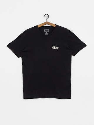 T-shirt Quiksilver Bouncing Heart (black)