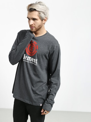 Longsleeve Element Vertical (charcoal heathe)