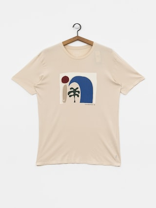 T-shirt Quiksilver Abstract Session (brazilian sand)