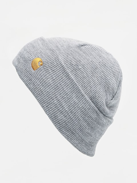 Czapka zimowa Carhartt WIP Chase (grey heather/gold)