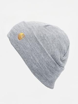 Czapka zimowa Carhartt WIP Chase (grey heather/gold)
