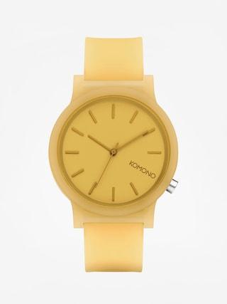 Zegarek Komono Mono (ochre glow)
