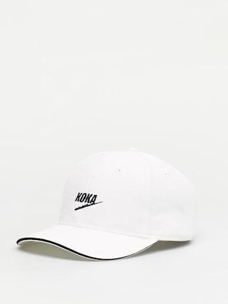 Czapka z daszkiem Koka Fake ZD (white)