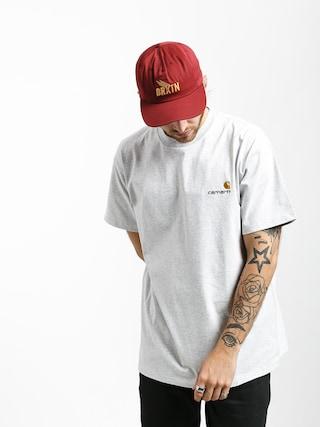 T-shirt Carhartt WIP American Script (ash heather)