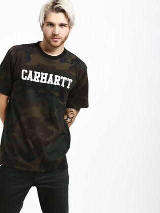 T-shirt Carhartt WIP College (camo evergreen/white)