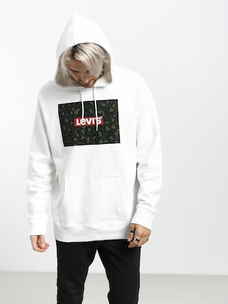 Bluza z kapturem Levi's Graphic Box HD (white)