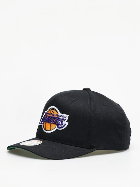 Czapka z daszkiem Mitchell & Ness Team Logo High Crown La Lakers ZD (black)