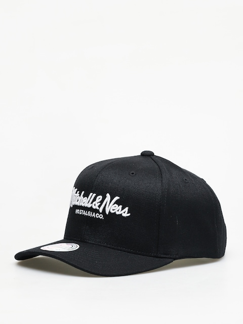 Czapka z daszkiem Mitchell & Ness Script High Crown 110 ZD (black)