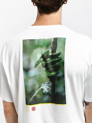 T-shirt Element Serpent (off white)