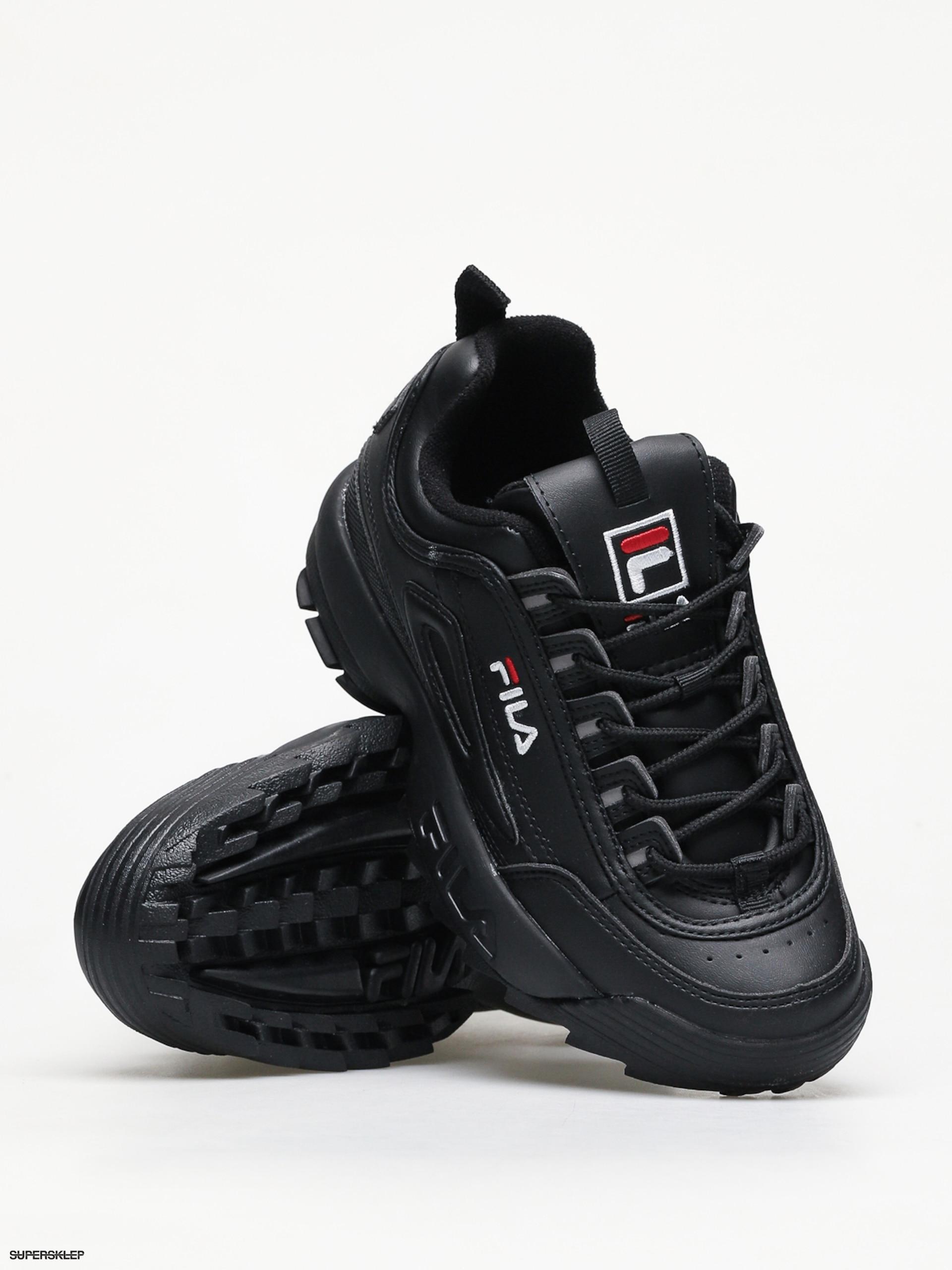 Fila Disruptor Low Wmn 25Y Black czarne | Sneakers, Obuwie i