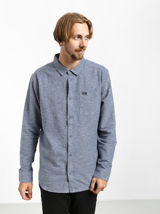 Koszula RVCA Blackand Flannel L (china blue)