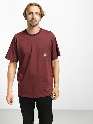 T-shirt Element Basic Pocket Label (port heather)
