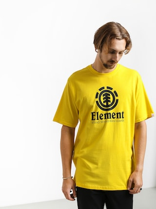 T-shirt Element Vertical (bright yellow)