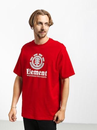 T-shirt Element Vertical (fire red)