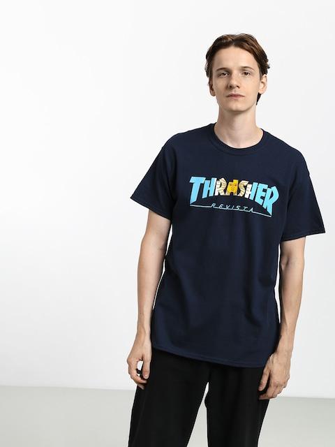 T-shirt Thrasher Argentina (navy)