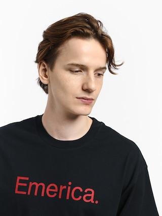 T-shirt Emerica Pure Logo (navy/red)