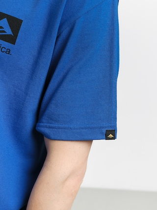 T-shirt Emerica Brand Combo (blue/black)