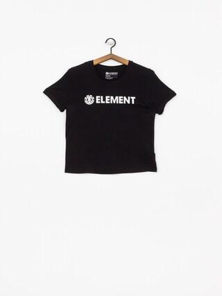 T-shirt Element Element Logo Wmn (black)