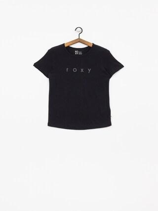 T-shirt Roxy Red Sunset Wmn (true black)