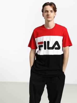 T-shirt Fila Day (true red/black/bright white)