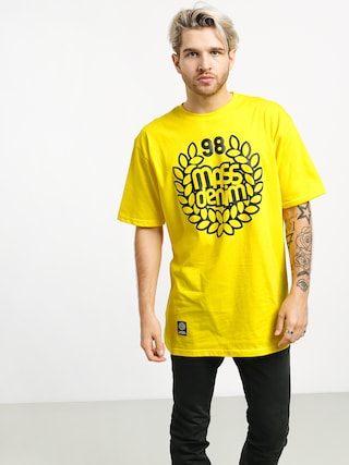 T-shirt MassDnm Base (yellow)