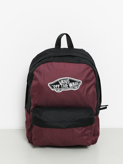 Plecak Vans Realm Wmn (prune/black)