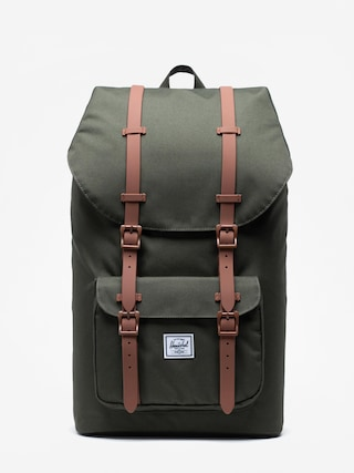 Plecak Herschel Supply Co. Little America (dark olive/saddle brown)