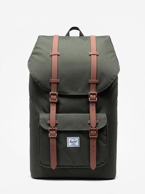 Plecak Herschel Supply Co. Little America (dark olive/saddle brown)