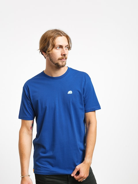 T-shirt Enjoi Small Blue Panda Patch
