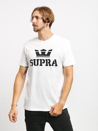 T-shirt Supra Above Regular (white/black)